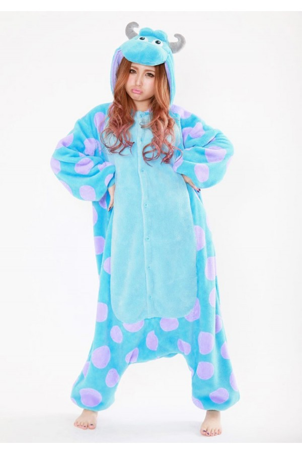 e6a92564fc09 Monsters Inc. James P. Sullivan(Sulley) Onesie Kigurumi - 4kigurumi.com