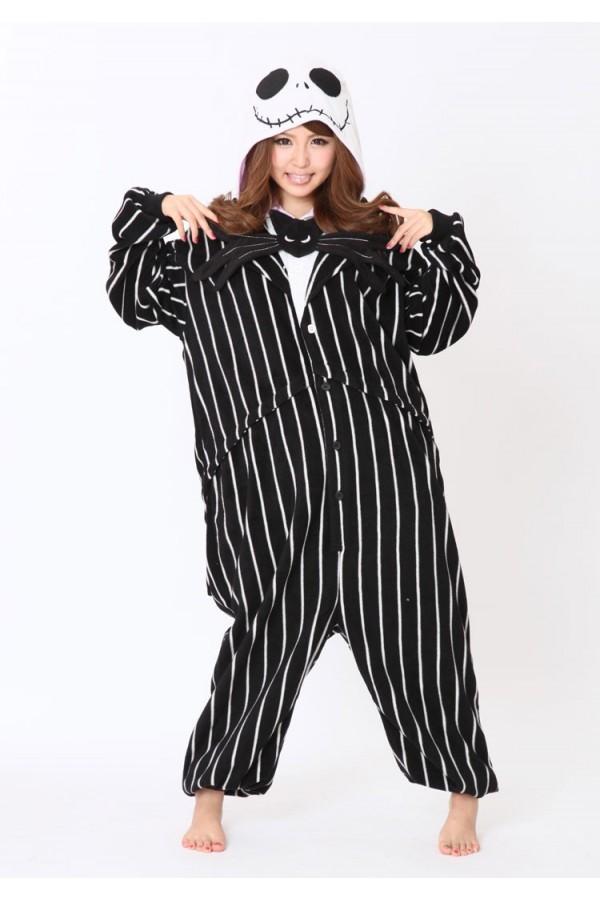 86ab83855d Jack Skellington Onesie Kigurumi Pajamas - 4kigurumi.com