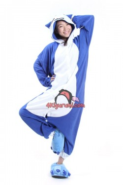 Pokemon Snorlax Onesie Halloween Pajamas