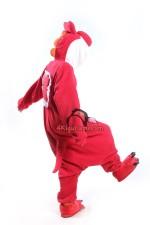 Red Yoshi Kigurumi Super Mario Run Costume