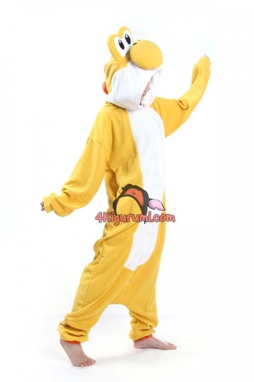 Yellow Yoshi Kigurumi Super Mario Run Costume