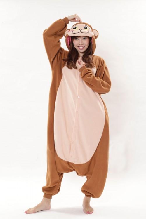 Funny Monkey Kigurumi Onesie