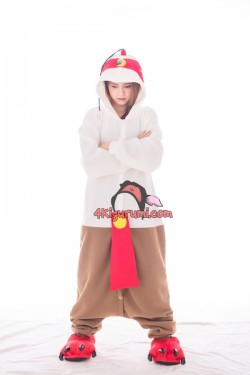 League of Legends Lee Sin the Blind Monk Kigurumi LOL Onesies