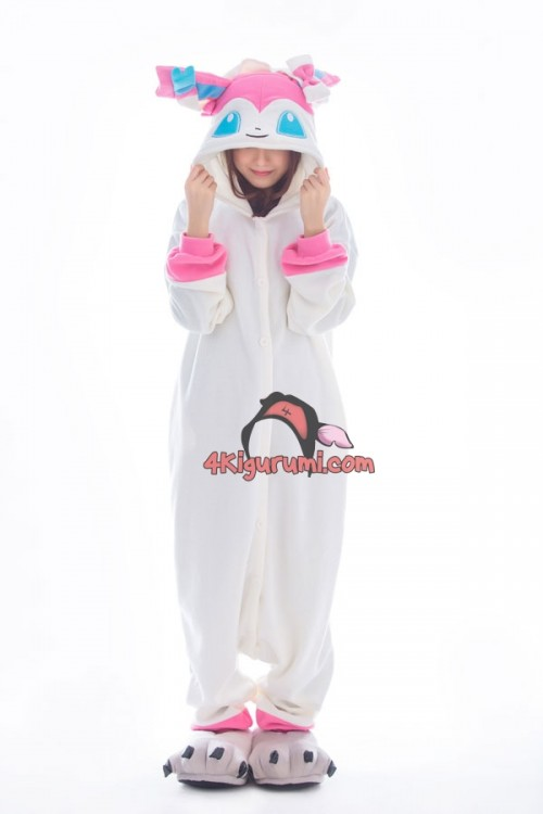Pokemon Go Kigurumi Sylveon Onesies