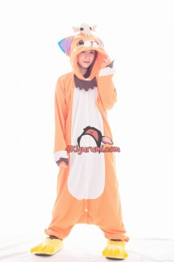 League of Legends Gnar The Missing Link Kigurumi LOL Onesies