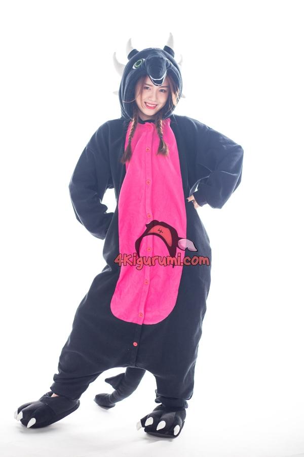 Cynder The Dragon Kigurumi Onesies - 4kigurumi.com b8b63f81d