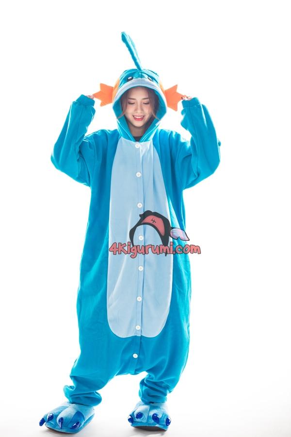 dd070c65cfe0 Mudkip Kigurumi Pokemon Pajamas - 4kigurumi.com