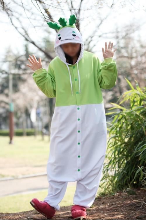 Radish Kigurumi Costume 2017 Botany Onesies