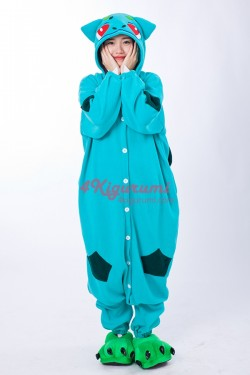 Bulbasaur Kigurumi Pajamas Pokemon Onesies