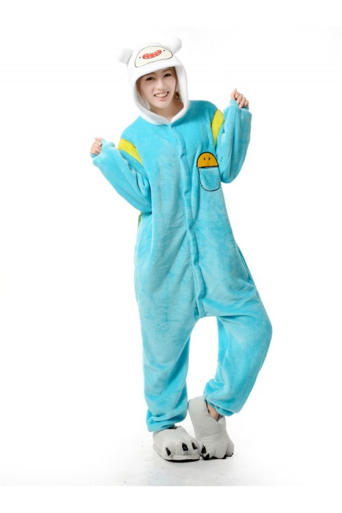 Finn Kigurumi Adventure Time Cartoon Onesies
