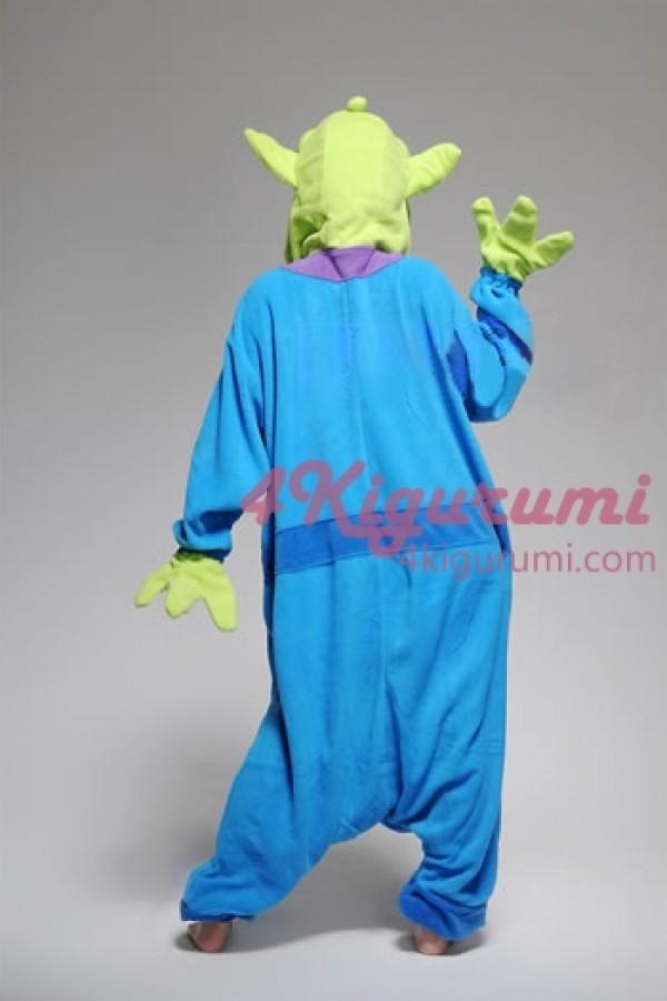 Little Green Men Kigurumi Animal Onesie - 4kigurumi.com | 600 x 900 jpeg 57kB