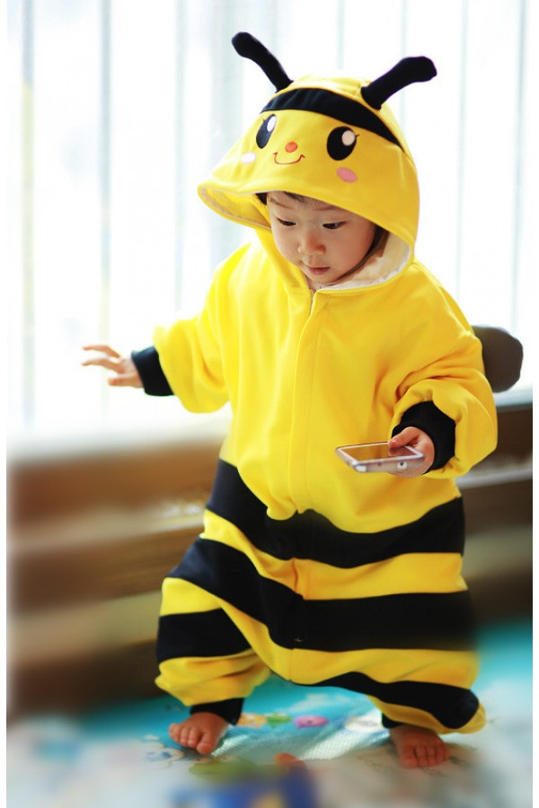 bee baby animal onesie 4kigurumicom