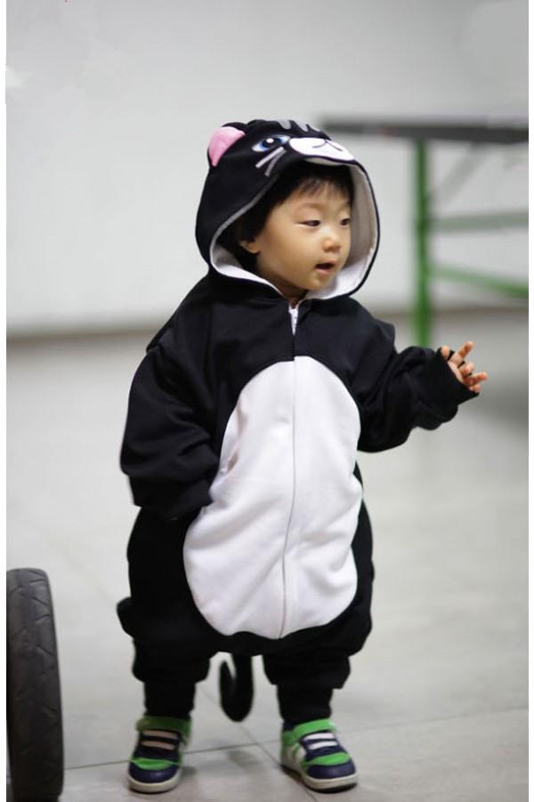 c9816ab57a79 Black Cat Baby Kigurumi Onesie Black Cat Baby Kigurumi Onesie ...