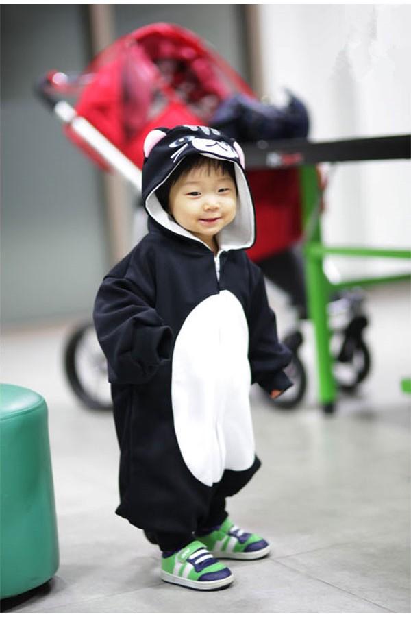 Black Cat Baby Kigurumi Onesie 4kigurumi Com