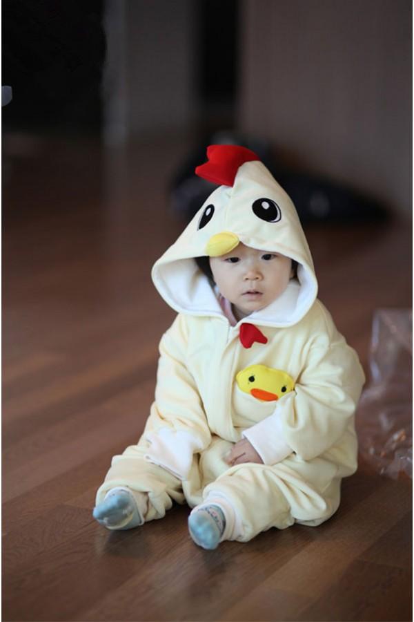 Chicken Baby Animal Pajama 4kigurumi Com