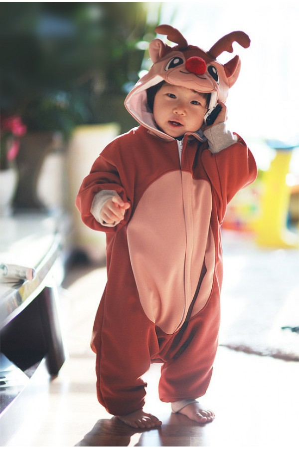 Deer Baby Animal Onesie 4kigurumi Com