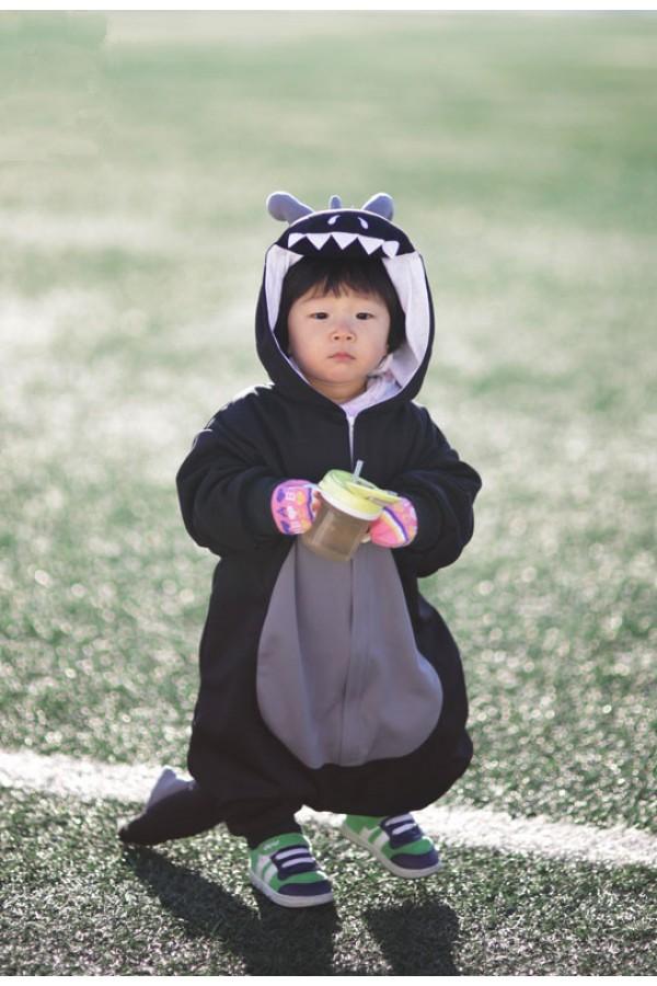 Black Dragon Baby Animal Onesie 4kigurumi Com
