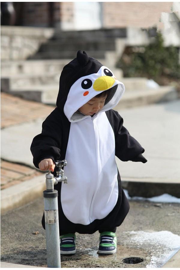 5f063d14e939 Black Penguin Baby Animal Onesie - 4kigurumi.com