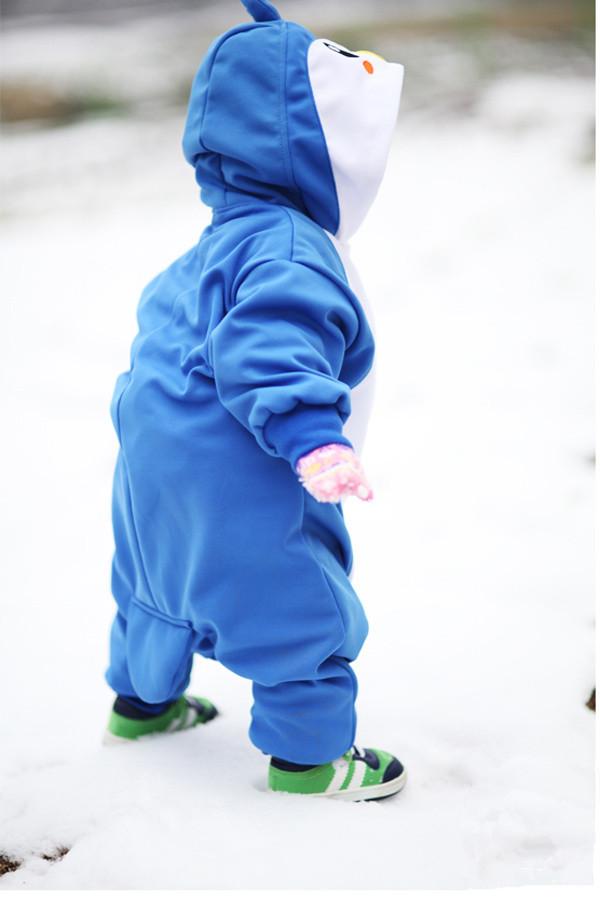 Blue Penguin Baby Animal Onesie 4kigurumi Com