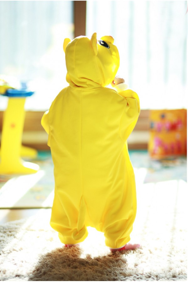 Yellow Pig Baby Animal Onesie