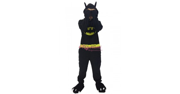 e907576f6a0e6e Batman Kigurumi Superhero Onesie