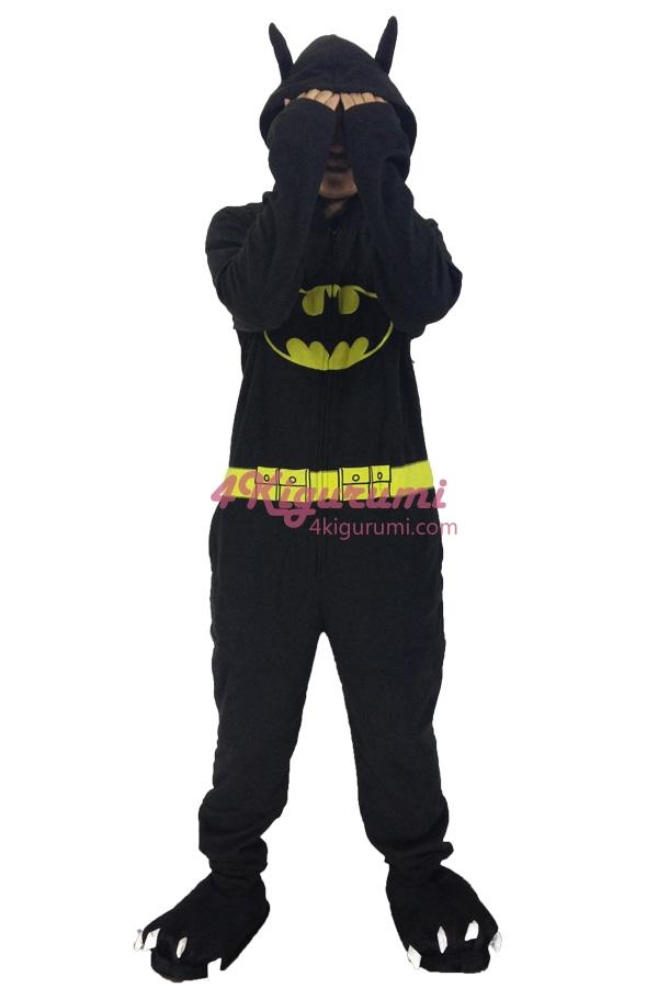 6f3d207063f202 Batman Kigurumi Superhero Onesie - 4kigurumi.com