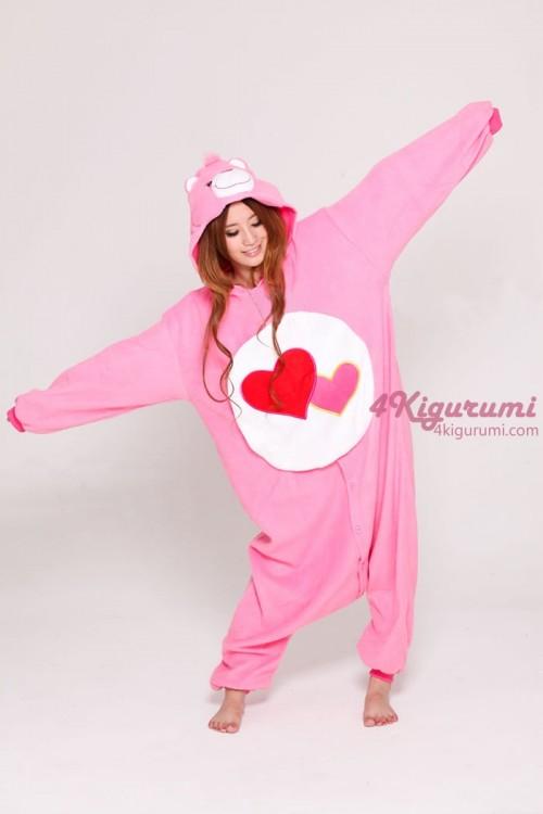 Love A Lot Bear Kigurumi Onesie - 4kigurumi.com