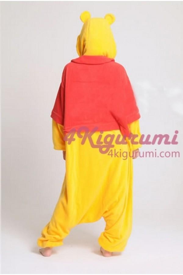 db91df06f5b9 Winnie The Pooh Bear Kigurumi Animal Onesie - 4kigurumi.com