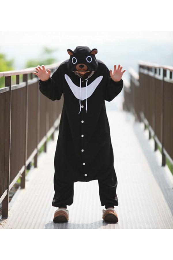 ... Black Bear Onesie Animal Costumes ...  sc 1 st  4kigurumi & Black Bear Onesie Animal Costumes - 4kigurumi.com