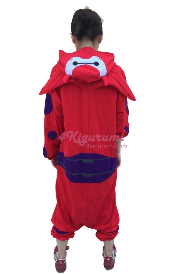 5746bbeff Big Hero 6 Kigurumi Fighting Baymax Spring Onesies - 4kigurumi.com