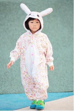Flower Bunny Kigurumi 2015 Baby Animal Onesies
