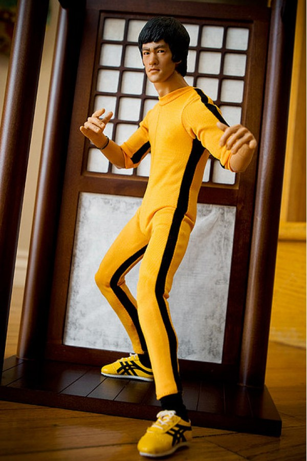 The Game of Death Bruce Lee Jumpsuit Costume Kung Fu Cosplay Jumpsuit