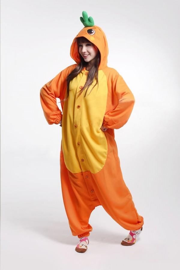 Funny Carrot Kigurumi Onesie - 4kigurumi.com