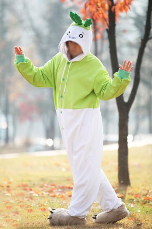 Radish Kigurumi Costume Botany Onesies
