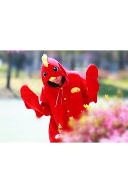 Red Chicken Onesie Animal Costumes