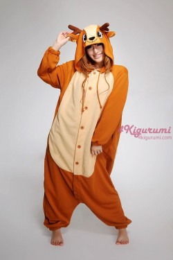 Deer Kigurumi Animal Onesie