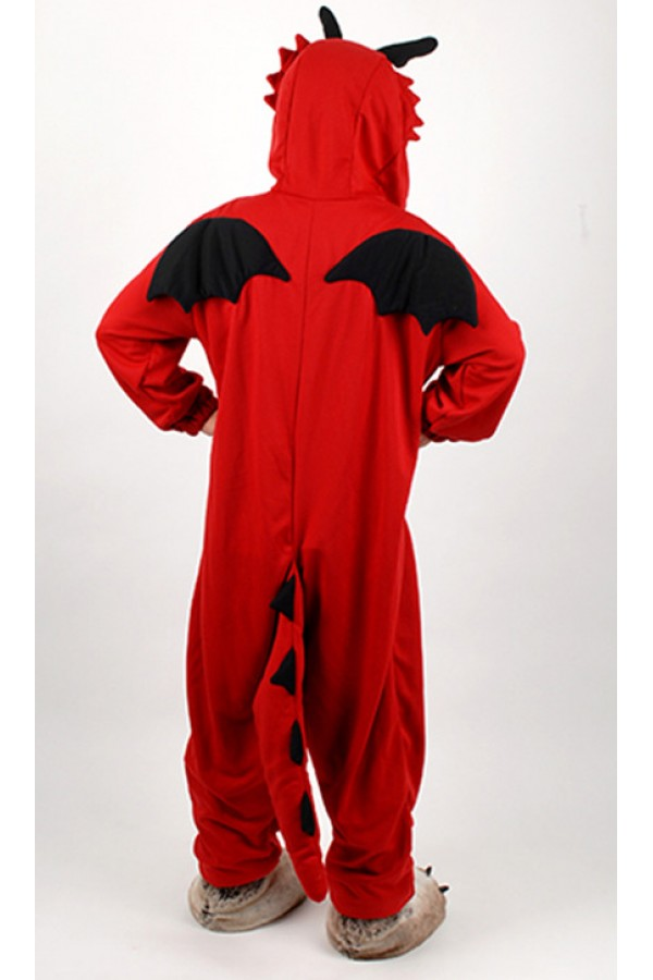 red dragon kigurumi halloween onesie red dragon kigurumi halloween onesie
