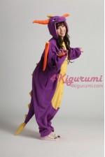 Royal Dragon Spyro The Dragon Onesie Costume Kigurumi Pajamas