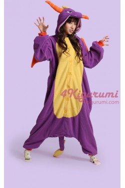Royal Dragon Spyro The Dragon Onesie Costume Kigurumi Pajamas