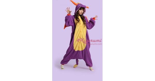 Royal Dragon Spyro The Dragon Onesie Costume Kigurumi Pajamas -  4kigurumi.com fac35fb37