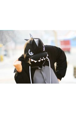 Black Dragon Onesie Kigurumi Pajamas