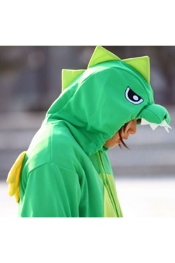 Green Dragon Onesie Kigurumi Pajamas