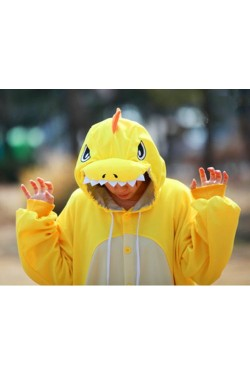 Yellow Dragon Onesie Kigurumi Pajamas