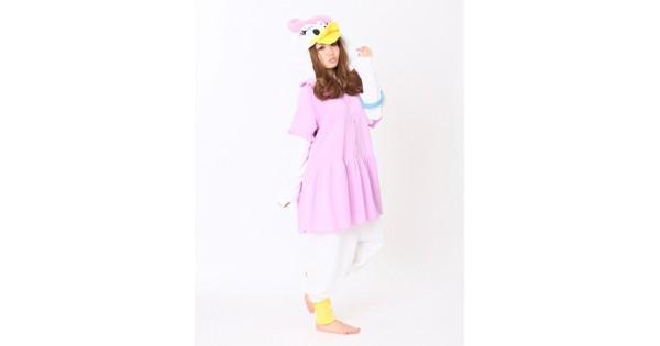19cffe99a0d2 Daisy Duck Onesie Disney Pajamas - 4kigurumi.com