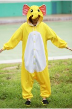 Yellow Elephant Onesie Kigurumi Pajamas