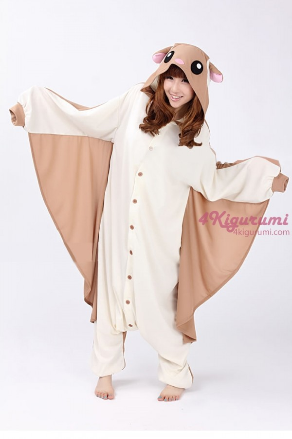 flying squirrel kigurumi onesie 4kigurumicom