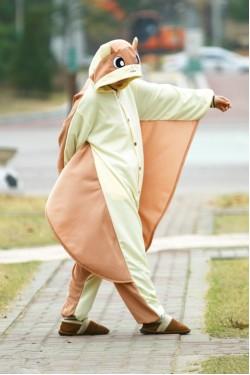 Flying Squirrel Onesie Animal Costumes