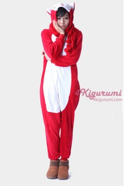 Red Fox Kigurumi Animal Onesie
