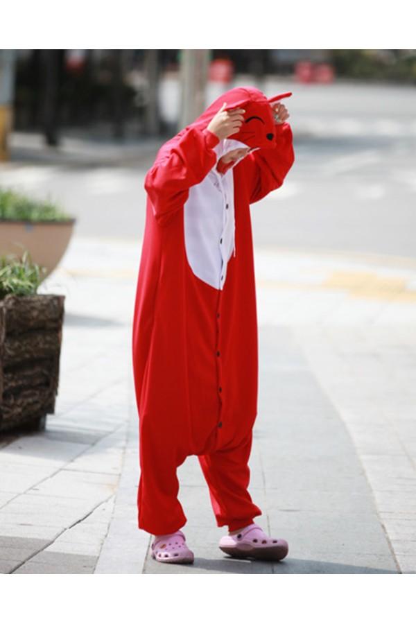 Red Fox Onesie Animal Costumes - 4kigurumi.com