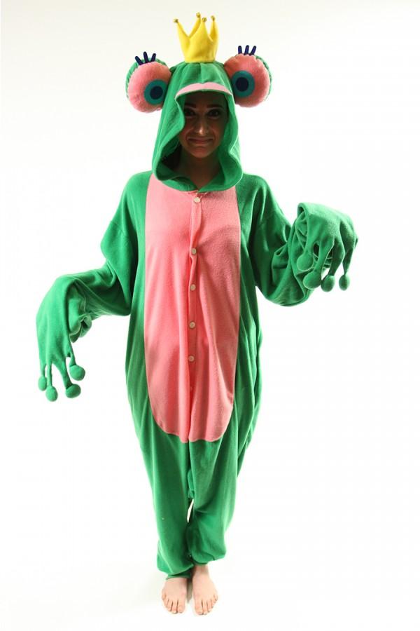Frog Prince Onesie Kigurumi Pajamas - 4kigurumi.com 5fd1ad5a2ae9a